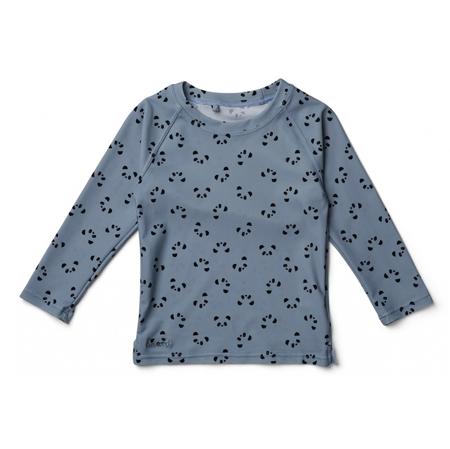 Slika Liewood® Majica z UV zaščito Noah Panda Blue Wave