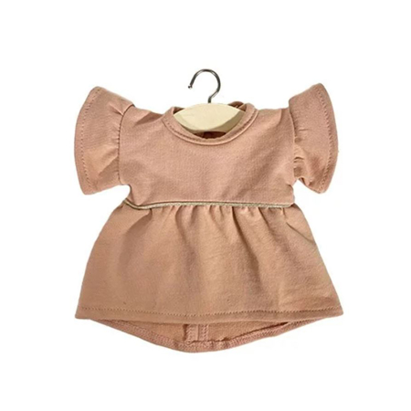 Minikane® Obleka za punčke Daisy Rose Nude 34cm