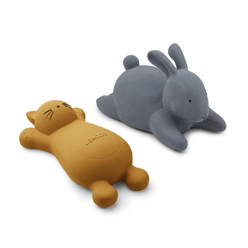 Liewood® Set 2 igračk za kopanje Vikky Cat Mustard
