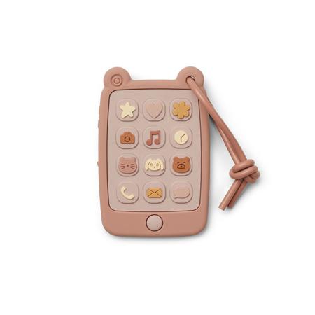 Slika Liewood® Aktivnostna igračka iz silikona Telefon Thomas Rose