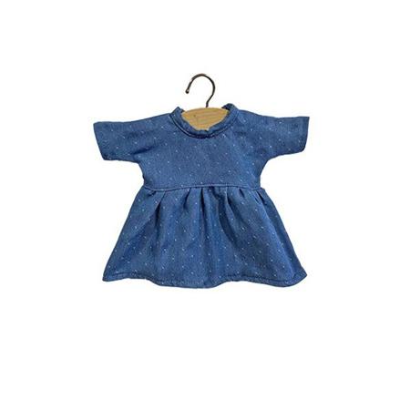 Slika Minikane® Obleka za punčke Faustine Denim 32cm