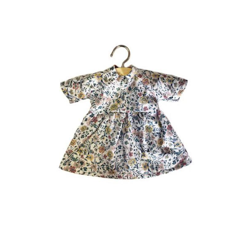 Minikane® Obleka za punčke Faustine Flowerly 32cm