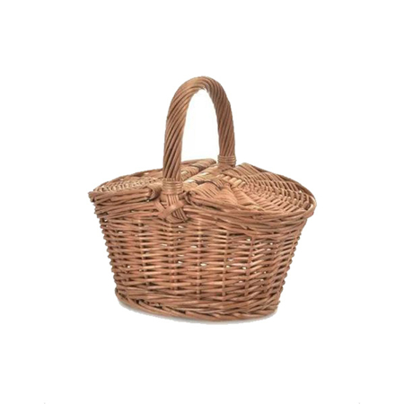 Slika Minikane® Pletena košara za piknik