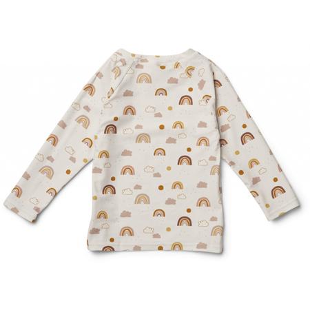 Liewood® Majica z UV zaščito Noah Rainbow Love Sandy