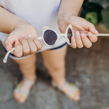 KiETLA® Otroška sončna očala Peach Pink 1-2L