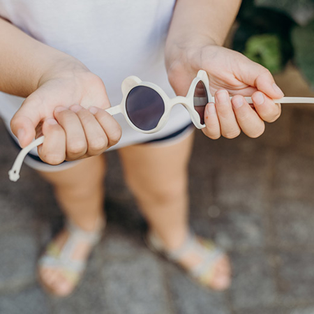 KiETLA® Otroška sončna očala Almond Green 1-2L