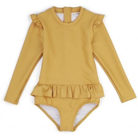 Slika Liewood® Otroške enodelne kopalke Sillie Yellow Mellow