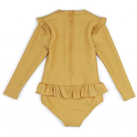Liewood® Otroške enodelne kopalke Sillie Yellow Mellow
