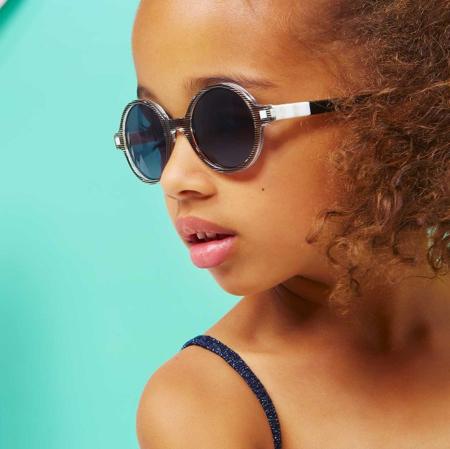 KiETLA® Otroška sončna očala Pink Rozz 6-9L