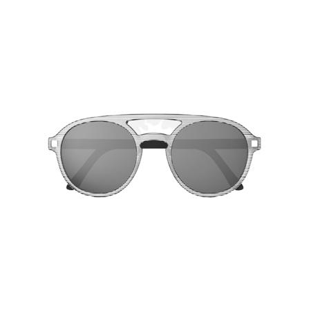 Slika KiETLA® Otroška sončna očala Stripe Pizz 6-9L