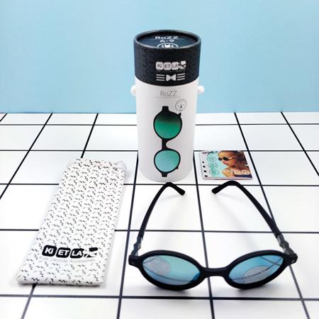 KiETLA® Otroška sončna očala Pink Buzz 6-9L