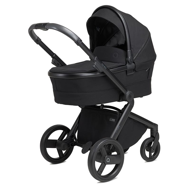 Anex® Otroški voziček s košaro 2v1 L/Type (0-22kg) Onyx