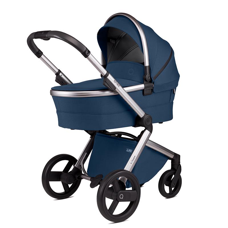 Anex® Otroški voziček s košaro 2v1 L/Type (0-22kg) Denim