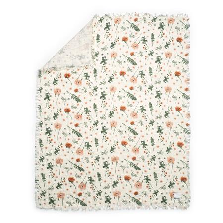 Elodie Details® Mehka bombažna odejica Meadow Blossom