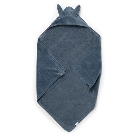 Slika Elodie Details® Brisačka s kapuco Blue Bunny (80x80)