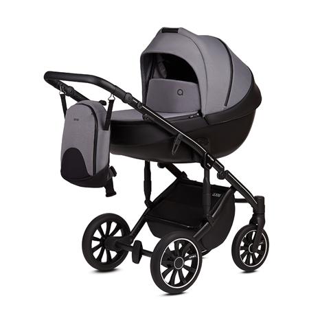 Slika Anex® Otroški voziček s košaro in nahrbtnikom 2v1 M/Type (0-22kg) Iron