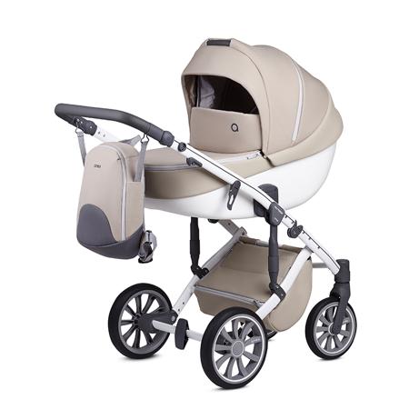 Slika Anex® Otroški voziček s košaro in nahrbtnikom 2v1 M/Type (0-22kg) Milk