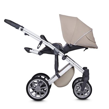 Anex® Otroški voziček s košaro in nahrbtnikom 2v1 M/Type (0-22kg) Milk