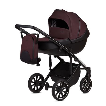 Slika Anex® Otroški voziček s košaro in nahrbtnikom 2v1 M/Type (0-22kg) Grape
