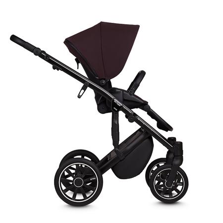 Anex® Otroški voziček s košaro in nahrbtnikom 2v1 M/Type (0-22kg) Grape