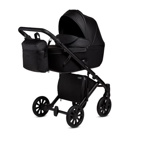 Slika Anex® Otroški voziček s košaro in nahrbtnikom 2v1 E/Type (0-22kg) Noir