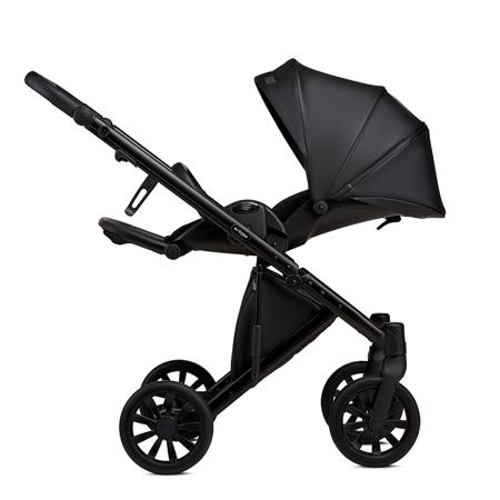 Anex® Otroški voziček s košaro in nahrbtnikom 2v1 E/Type (0-22kg) Noir