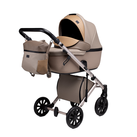 Slika Anex® Otroški voziček s košaro in nahrbtnikom 2v1 E/Type (0-22kg) Truffle