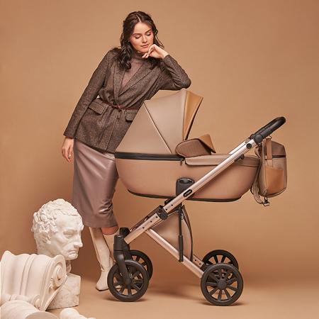 Anex® Otroški voziček s košaro in nahrbtnikom 2v1 E/Type (0-22kg) Truffle