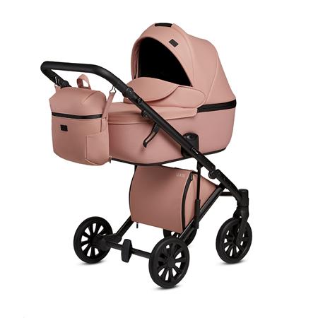Slika Anex® Otroški voziček s košaro in nahrbtnikom 2in1 E/Type (0-22kg) Peach