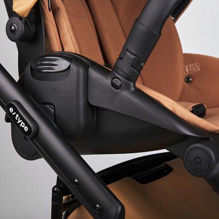 Anex® Otroški voziček s košaro in nahrbtnikom 2v1 E/Type (0-22kg) Caramel