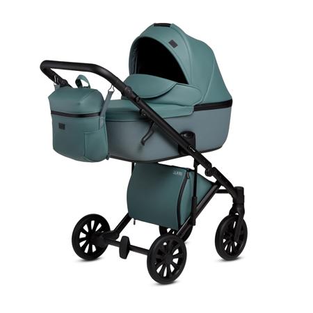 Slika Anex® Otroški voziček s košaro in nahrbtnikom 2v1 E/Type (0-22kg) Aqua