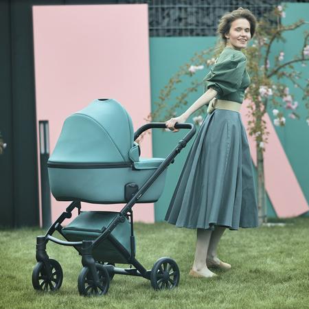Anex® Otroški voziček s košaro in nahrbtnikom 2v1 E/Type (0-22kg) Aqua