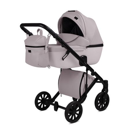 Slika Anex® Otroški voziček s košaro in nahrbtnikom 2v1 E/Type (0-22kg) Pearl