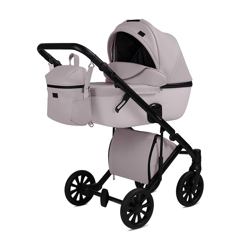 Anex® Otroški voziček s košaro in nahrbtnikom 2v1 E/Type (0-22kg) Pearl