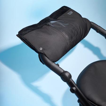 Anex® Zimska muff rokavica Black