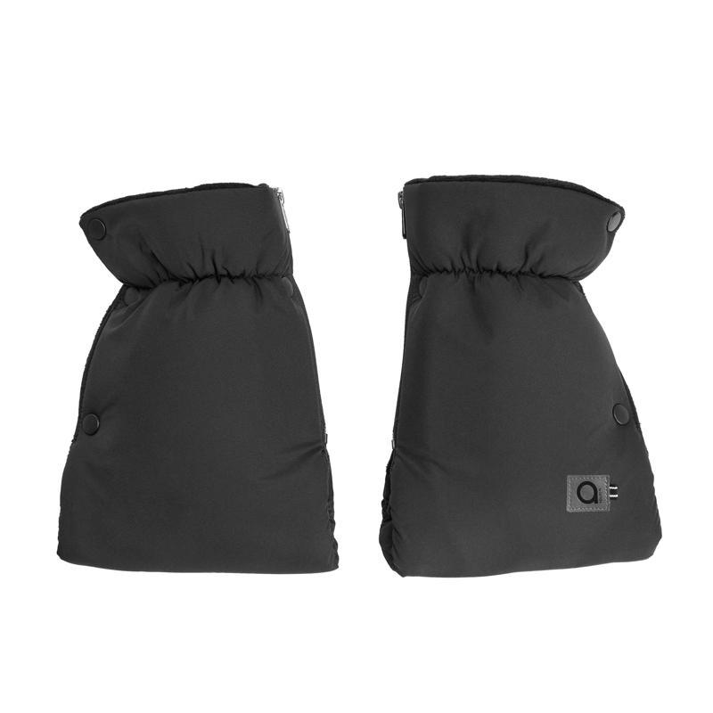 Anex® Zimska muff rokavica Transformer Black