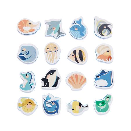 Petit Monkey® Penaste puzzle za kopel Sea Animals