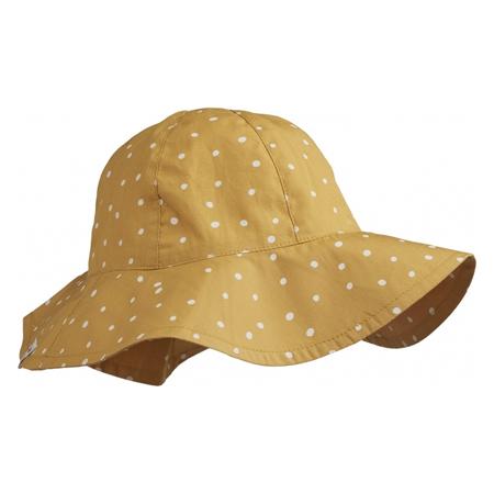 Slika Liewood® Amelia Klobuček z UV zaščito Confetti Yellow Mellow
