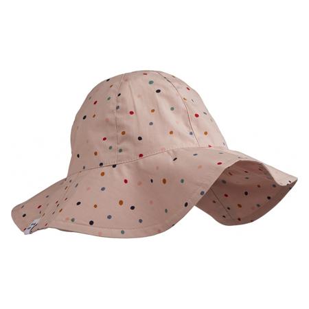 Slika Liewood® Amelia Klobuček z UV zaščito Confetti Mix 0-3 M