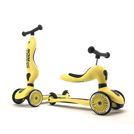 Scoot & Ride® Otroški poganjalec in skiro Highwaykick 1 Lemon
