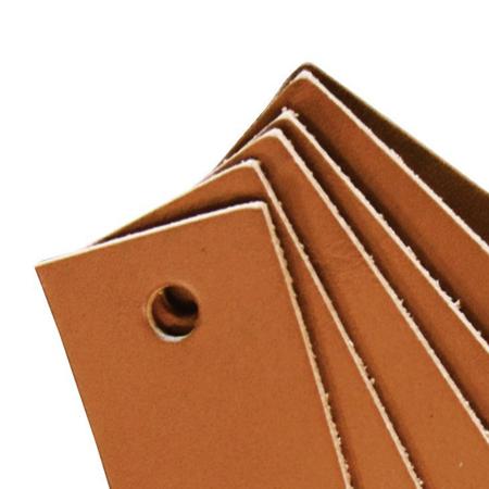 Leander® Usnjeni ročaj 6 kosov Brown