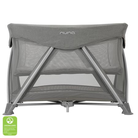 Slika Nuna® Prenosna posteljica Sena™ Aire + rjuha Frost