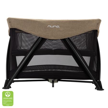 Slika Nuna® Prenosna posteljica Sena™ Aire + rjuha Mocha
