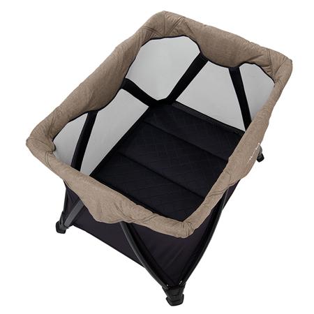 Nuna® Prenosna posteljica Sena™ Aire + rjuha Mocha