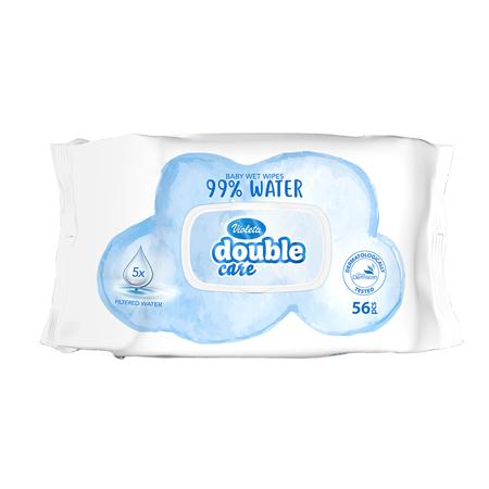 Violeta® Otroški vlažni robčki Water Care 56/1