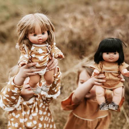 Minikane® Komplet Duo Collection MARINA Ecru