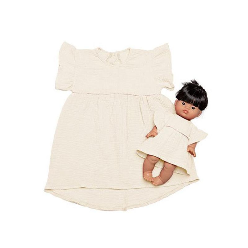 Minikane® Komplet Duo Collection DAISY Ecru