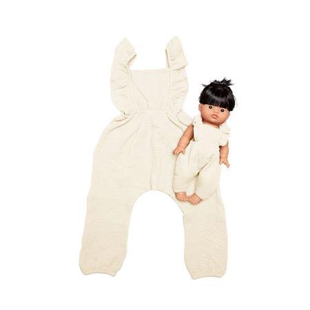 Slika Minikane® Komplet oblačil Duo Collection MAYA Ecru