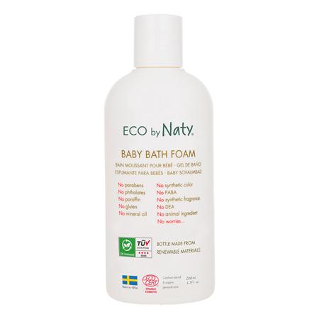 Slika Eco by Naty® Peneča kopel z aloe vero 200 ml