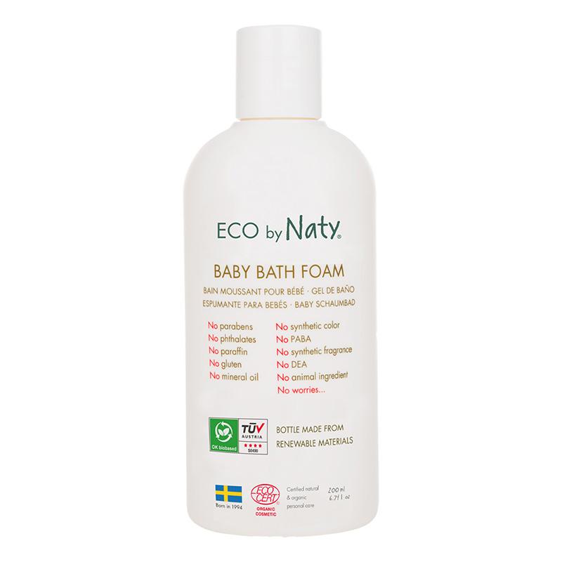 Eco by Naty® Peneča kopel z aloe vero 200 ml